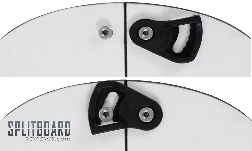 Splitboard Nose and Tail Clip